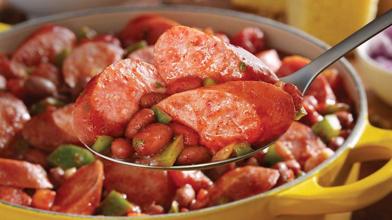 Smoked Sausage Chili Eckrich