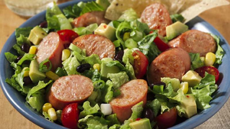 ECK_Taco Salad with Savory Sausage
