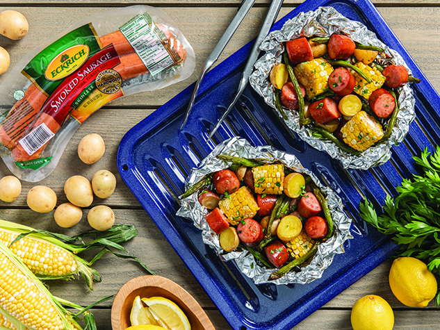 P-E02-A_FOIL PACK SAUSAGE AND SUMMER VEGETABLES_633x475