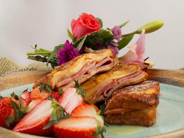 Breakfast Ham Monte Cristo landscape
